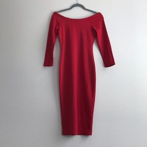 Zara Trafaluc Bodycon Dress